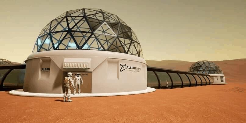 Space BioFarms – Aleph Farms space program ©Aleph Farms
