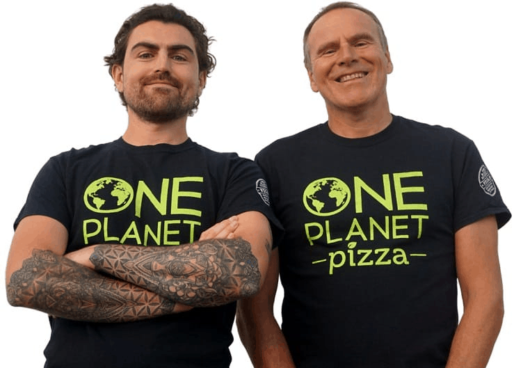 Mike and Joe ©One Planet Pizza