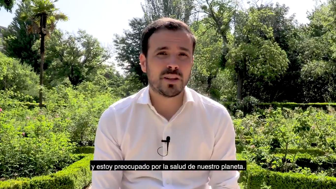 Alberto Garzón, ministre espagnol de la consommation